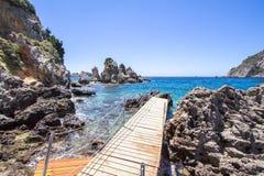 Free Ampelaki Bay, Paleokastritsa, Corfu, Greece Royalty Free Stock Images - 113641399