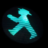 Ampelmannchen Traffic Signal Stock Photo