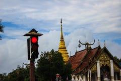 Ampeln vorderer Tempel stockbilder