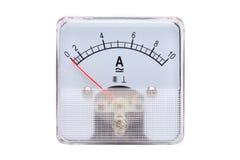 Amperímetros análogos Fotografia de Stock Royalty Free