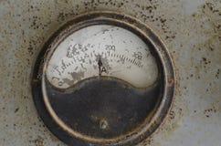 Amper meter analog relic Royalty Free Stock Photography