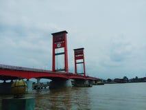 Ampera-Brücke lizenzfreies stockfoto