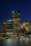 Ampere-byggnad i CBDEN av Sydney Arkivfoton