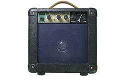 Ampere-Gitarre Stockfotos