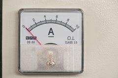 Ampere-meter Fotografering för Bildbyråer