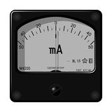 Ampere meter Royalty Free Stock Image