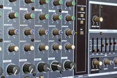 Ampere-Panel mit Griffen Lizenzfreie Stockfotos