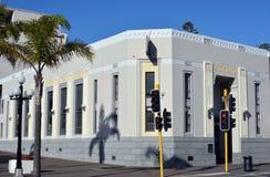 Ampere som bygger Art Deco Napier New Zealand Maori Design arkivfoton