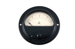 Amperemeter Royalty Free Stock Photo
