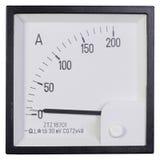 Amperemeter stockbilder