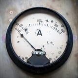 Amperemeter fotografia stock