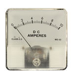 Amperemeter. That is isolated in white Royalty Free Stock Photo