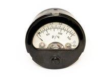 ampermeter接近老  免版税库存照片