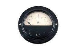 Amperometro fotografia stock libera da diritti