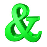 Ampersand Royalty Free Stock Image