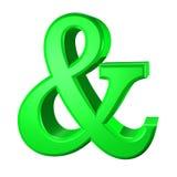 Ampersand vector illustratie