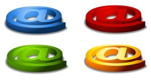 ampersand asortowani symboli Zdjęcia Stock
