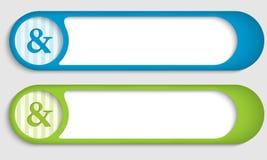 Ampersand Stock Image