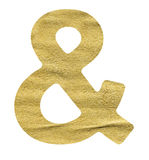 Ampersand symbol Stock Images