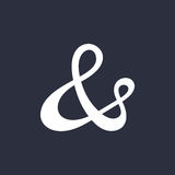 Ampersand vector illustration Stock Images
