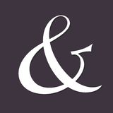 Ampersand Royalty Free Stock Photos