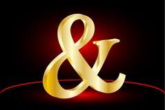 Ampersand wektoru ikona Zdjęcie Royalty Free
