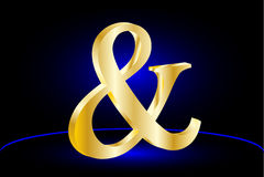 Ampersand wektoru ikona Zdjęcia Royalty Free