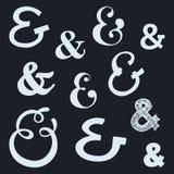 ampersands ilustracji