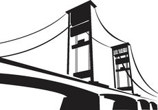 Amperu most Zdjęcia Royalty Free