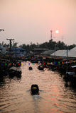 Amphawa Ταϊλάνδη στοκ φωτογραφία με δικαίωμα ελεύθερης χρήσης