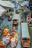 Amphawa bangkok floating market thailand Stock Photos