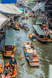 Amphawa bangkok floating market thailand Royalty Free Stock Images