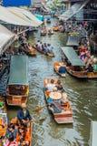 Amphawa bangkok floating market thailand. Bangkok, Thailand - December 30, 2013: Amphawa bangkok floating market at Bangkok, Thailand on december 30th, 2013 Royalty Free Stock Images