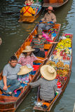 Amphawa bangkok floating market Thailand Royalty Free Stock Photography