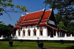 amphawa chetiyaram泰国wat 免版税库存图片