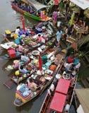 Amphawa Floating Market, Bangkok, Thailand Royalty Free Stock Photos