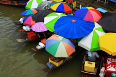 Amphawa Floating Market Royalty Free Stock Photo