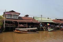 Amphawa Floating Market Royalty Free Stock Photos