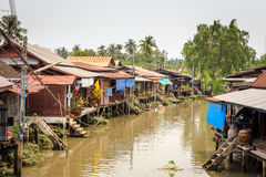 Amphawa Village Stock Image