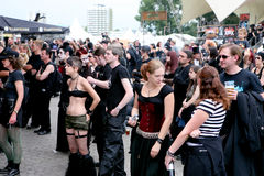 Amphi Festival - audience Stock Photos