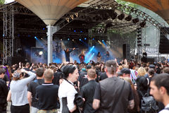 Amphi Festival - audience Stock Photography