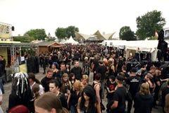 Amphi Festival - Besucher Lizenzfreies Stockfoto