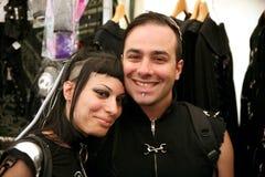 Amphi Festival - Gothic couple Royalty Free Stock Image