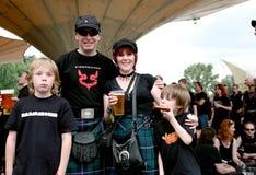Amphi Festival - Gothic family Royalty Free Stock Photos