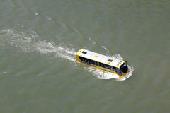 Amphibian bus in Rotterdam, Holland Royalty Free Stock Photography