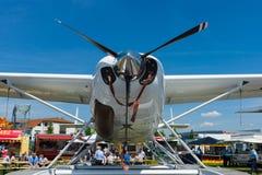 Amphibie léger de caravane de Cessna 208 de turbopropulseur de transport photographie stock libre de droits