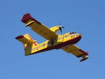Amphibious aircraft Stock Image