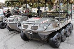 Amphibious Chariot Stock Photo