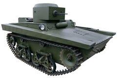 Amphibious light tank Royalty Free Stock Images