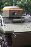 The amphibious scout tank Stock Image